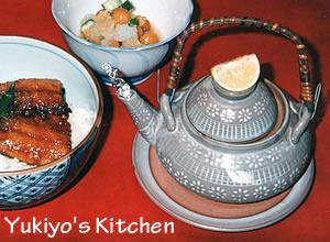 Yukiyo:松茸の土瓶蒸し
