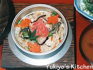 Yukiyo:牡蠣の釜めし