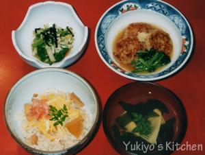 Yukiyos kitchen たけのこ