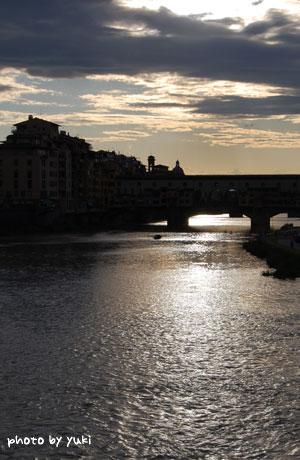 フィレンツェの夕刻