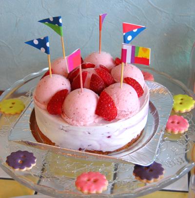 誕生日 ジェラートケーキ