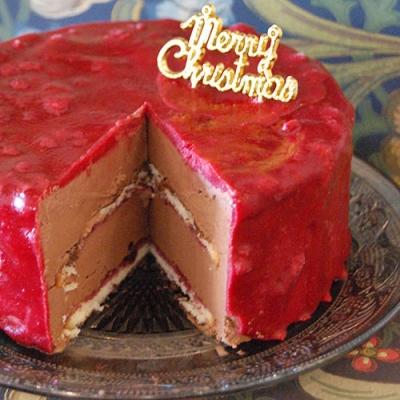 クリスマスジェラートケーキ