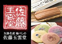 佐藤玉雲堂のウェブサイト