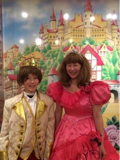 4aeb13d0a2874 王子さま体験、お姫さま体験ご利用のお客様です  ( o )