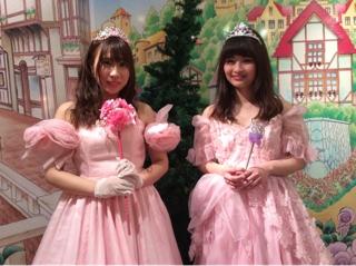 49340b4202e20 本日のお姫さま体験のお客様です♪お写真ありがとうございます!