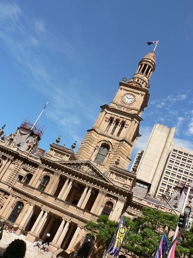 シドニーの時計台