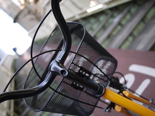 自転車ハルと町並み