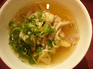 会津地鶏の鶏飯
