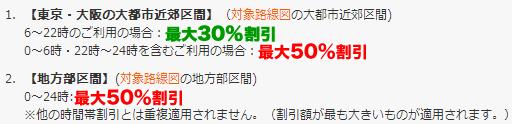 最大割引50%