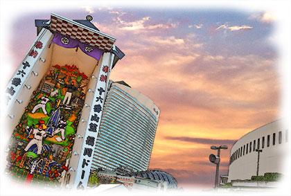福岡ドーム飾り山