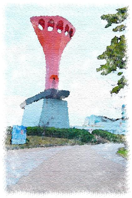 博多港 引揚記念碑 那の津往還