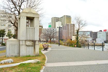 福岡市 遺構 須崎橋