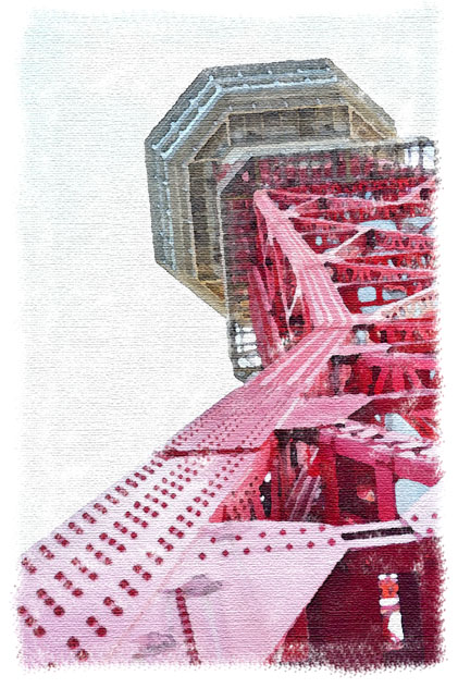 博多埠頭 ベイサイドプレイス 博多ポートタワー
