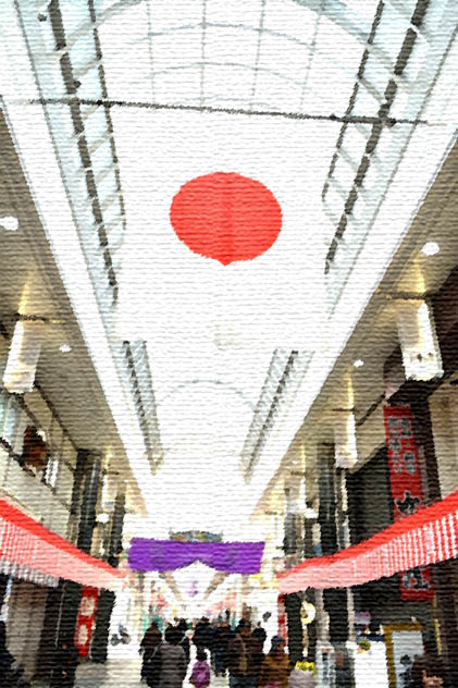 上川端商店街,中洲,福岡市,博多区