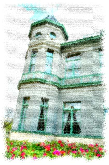 天神中央公園、旧福岡県公会堂貴賓館