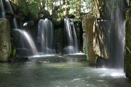 真名井の滝(再現)