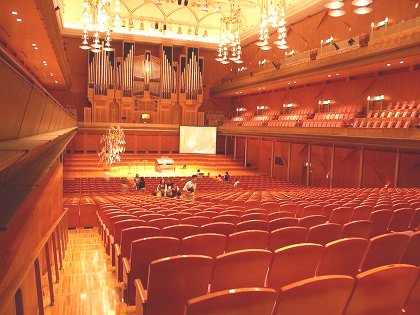 宮崎県立芸術劇場アイザックスターンホール