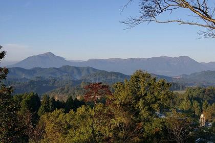 野尻町 大塚原公園から見た霧島連山 00