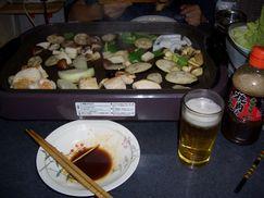 ビールと一緒に^^