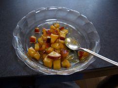 さつまいものオレンジ煮