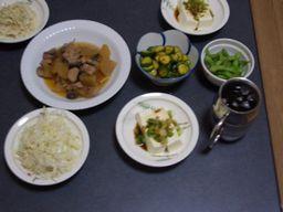 金曜の夕食
