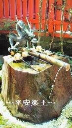 箱根神社内の九頭龍神社のご神水。