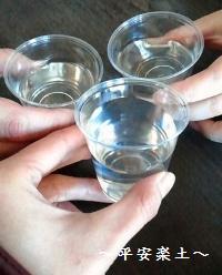 ふるまい酒で乾杯☆