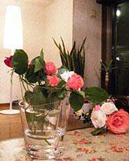 ガラス製花瓶