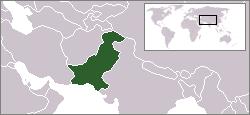 パキスタン地図