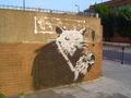 バンクシー(Banksy)作 The Cat