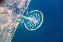 パーム・アイランド 衛星画像