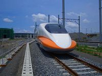台湾高速鉄道700T型、高雄車輌基地(2004年8月)