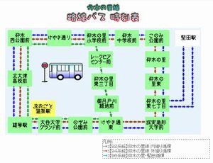 バス時刻表イメージ