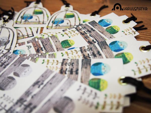 AVARUUSMATKA作品 インコのブックマーク