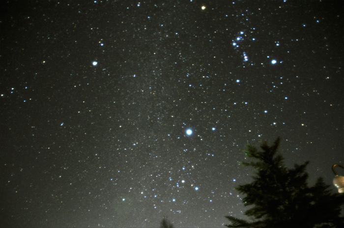山梨県の星空