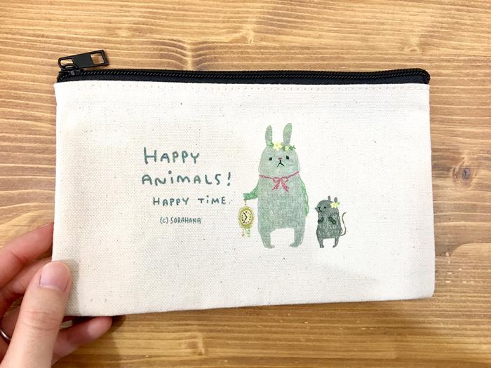 HAPPY ANIMALS!ポーチ