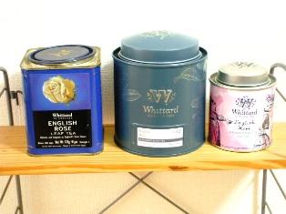 ウイッタードの紅茶缶