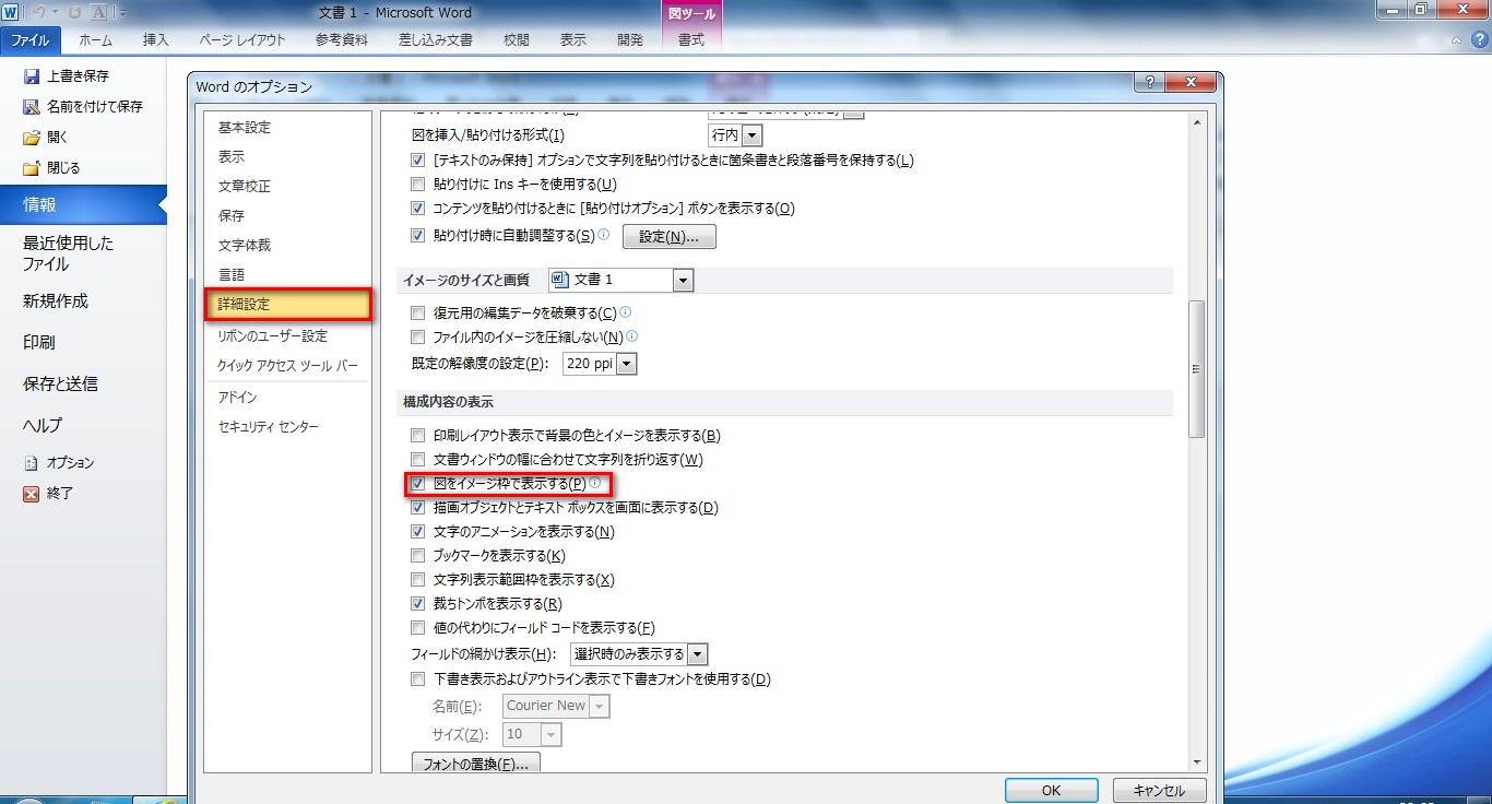 Word2010オプション