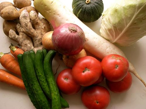 夏野菜たちがはるばるやってきた!