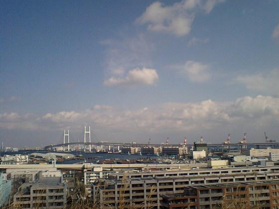 港の見える丘公園からの眺め