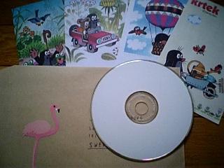 つばきのCD送りました!