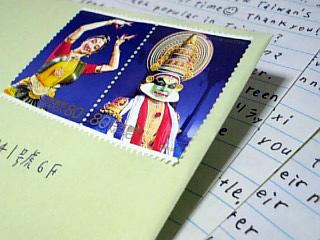 インド切手です