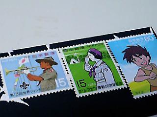 切手は左向け左で統一しました
