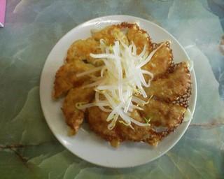 むつ菊の餃子