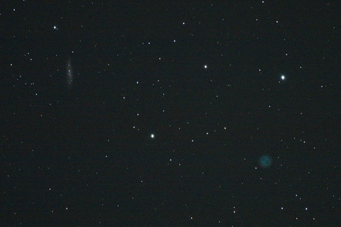 ふくろう星雲(M97)とM108