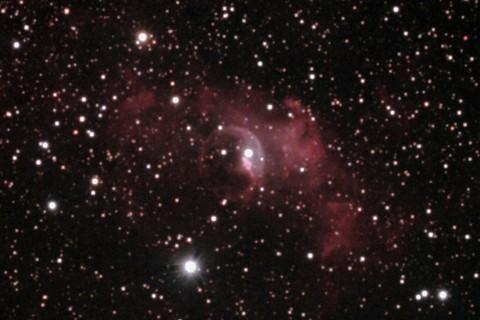 しゃぼん玉星雲(NGC7635)