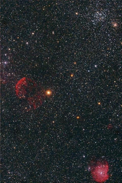 M35,くらげ星雲,モンキー星雲