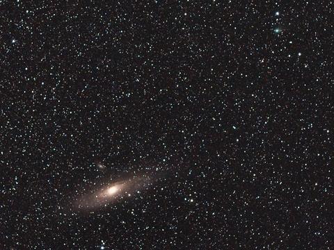 M31とレモン彗星