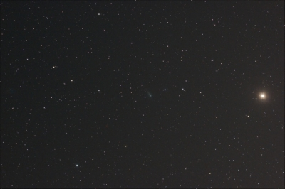 アイソン彗星と火星
