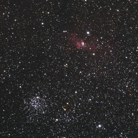 M52とバブル星雲